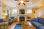 2703 SW Beach Ave, Lincoln City, OR 97367 -  Cheery Living Room