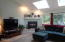 1015 SW Pine Ave, Depoe Bay, OR 97341 - Skylites & Gas fireplace at great room