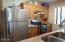 225 SE Derrick, Depoe Bay, OR 97341 - Sunny kitchen