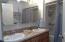 225 SE Derrick, Depoe Bay, OR 97341 - Bathroom w/dbl sinks
