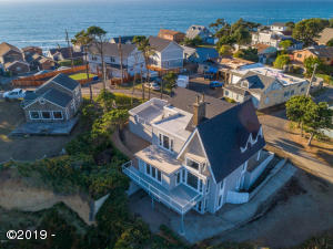 220 NW Sunset St, Depoe Bay, OR 97341 - Aerial
