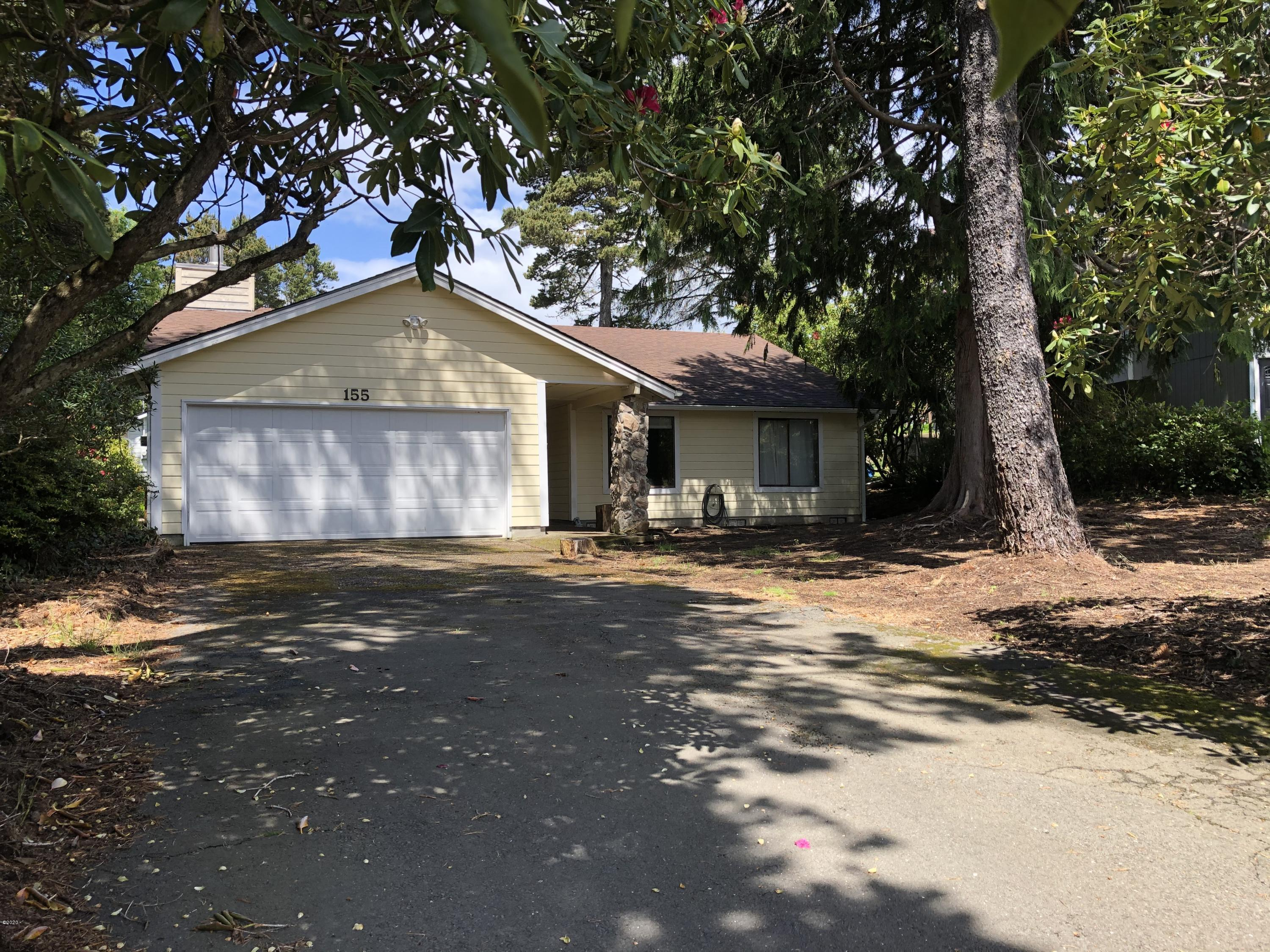 155 NW Lancer St, Lincoln City, OR 97367 - One level on nice lot