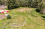3021 N Bayview Rd, Waldport, OR 97394 - Drone of round pen