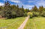 3021 N Bayview Rd, Waldport, OR 97394 - Drone of entry to property with pastures
