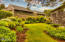 647 Pacific View Dr, Yachats, OR 97498 - Gardens surround home