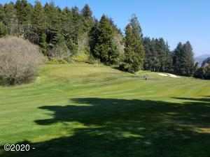 115 Salishan Dr, Gleneden Beach, OR 97388 - Just off the 18th tee looking at lot