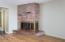 3888 SW Fehrenbacher Dr, Waldport, OR 97394 - Fireplace
