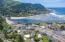 224 E 3 Rd STREET, Yachats, OR 97498 - Aerial w bay & ocean