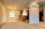 160 SE Whalesong Dr, Depoe Bay, OR 97341 - Living/Dining Room