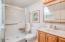 302 N Hwy 101, Depoe Bay, OR 97341 - Upstairs bathroom