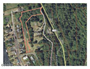 TL05500 E Pioneer St, Tidewater, OR 97390 - OnX Map