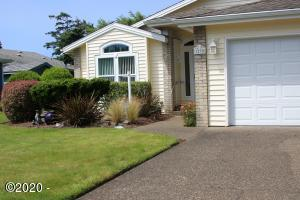 1230 SW Sailfish Loop, Waldport, OR 97394 - front of home