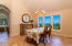 3814 NW Shore View Dr, Waldport, OR 97394 - Dining with View