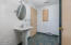 769 NW Highland Dr, Waldport, OR 97394 - Lower level pedestal sink