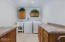 102 Salishan Dr, Gleneden Beach, OR 97388 - Large laundry with attic storage