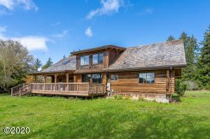 4658 S Immonen Rd, Lincoln City, OR 97367 - Authentic Log Cabin