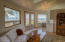 525 NW Yaquina Avenue, Depoe Bay, OR 97341 - Living room with ocean view.