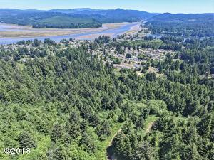 00 SE Merten Dr, Waldport, OR 97394 - From Drone Above Property