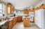 3814 Summit Ridge Cir., Depoe Bay, OR 97341 - Large Kitchen