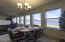 201 NW Alsea Bay Dr, Waldport, OR 97394 - Dining and Fireplace