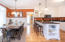 2595 SW Barnacle Ave, Lincoln City, OR 97367 - Open kitchen/dining area