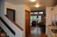 301 Otter Crest Dr, #304-305, 1/4th Share, Otter Rock, OR 97369 - Kitchen & stairs to loft