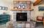 5505 NW Keel Ave, Lincoln City, OR 97367 - Fireplace