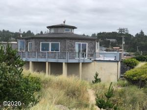 1518 NW Oceania Dr, Waldport, OR 97394 - West Side of home
