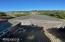 1518 NW Oceania Dr, Waldport, OR 97394 - view looking East over garages
