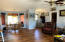 1245 SW Fairway Dr, Waldport, OR 97394 - Living room and Dining area