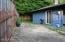 1460 NW Deer Dr, Toledo, OR 97391 - Back yard off utility room and garage