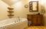 474 S. Hwy 101, Depoe Bay, OR 97341 - Upstairs bathroom