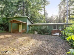 781 N Sundown Dr, Otis, OR 97368 - Front of Home