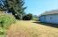 606 Miller Av, Tillamook, OR 97141 - back yard