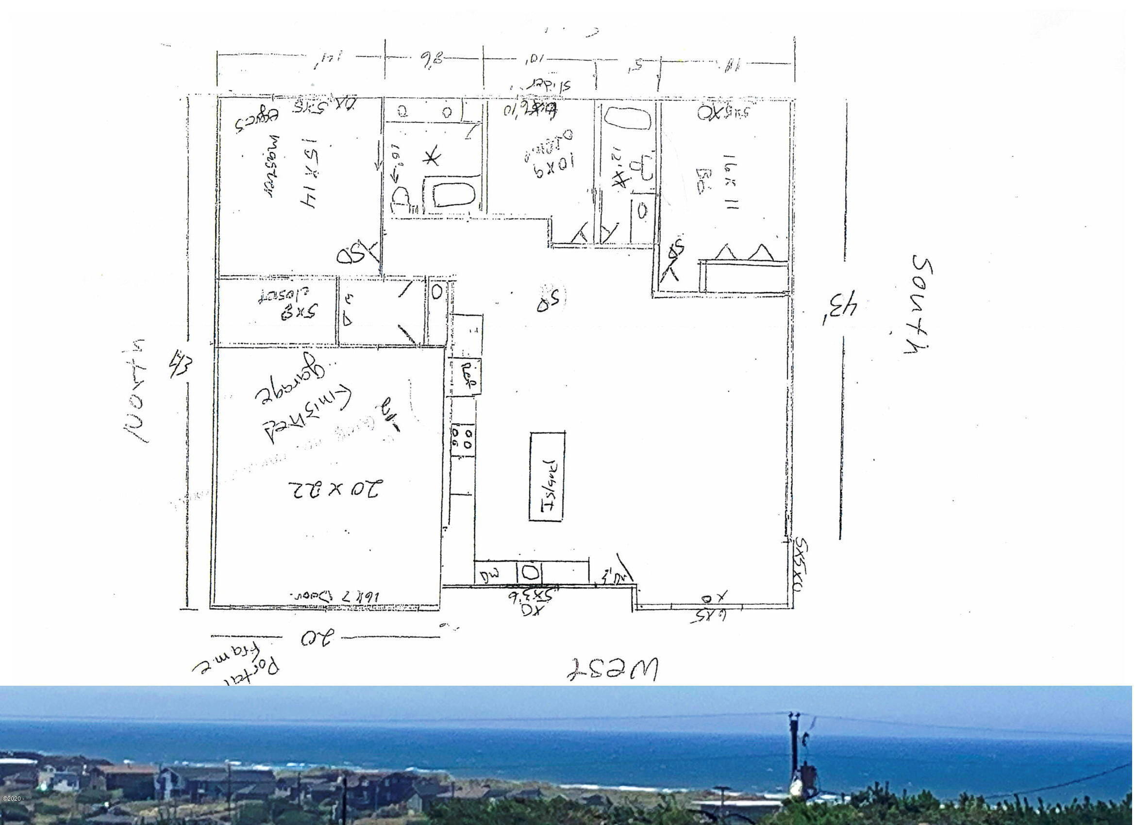 1909 NW Bayshore Dr, Waldport, OR 97394 - Floor plan - insert