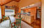 95999 US-101, A&B, Yachats, OR 97439 - Kitchen with ocean view  unit B