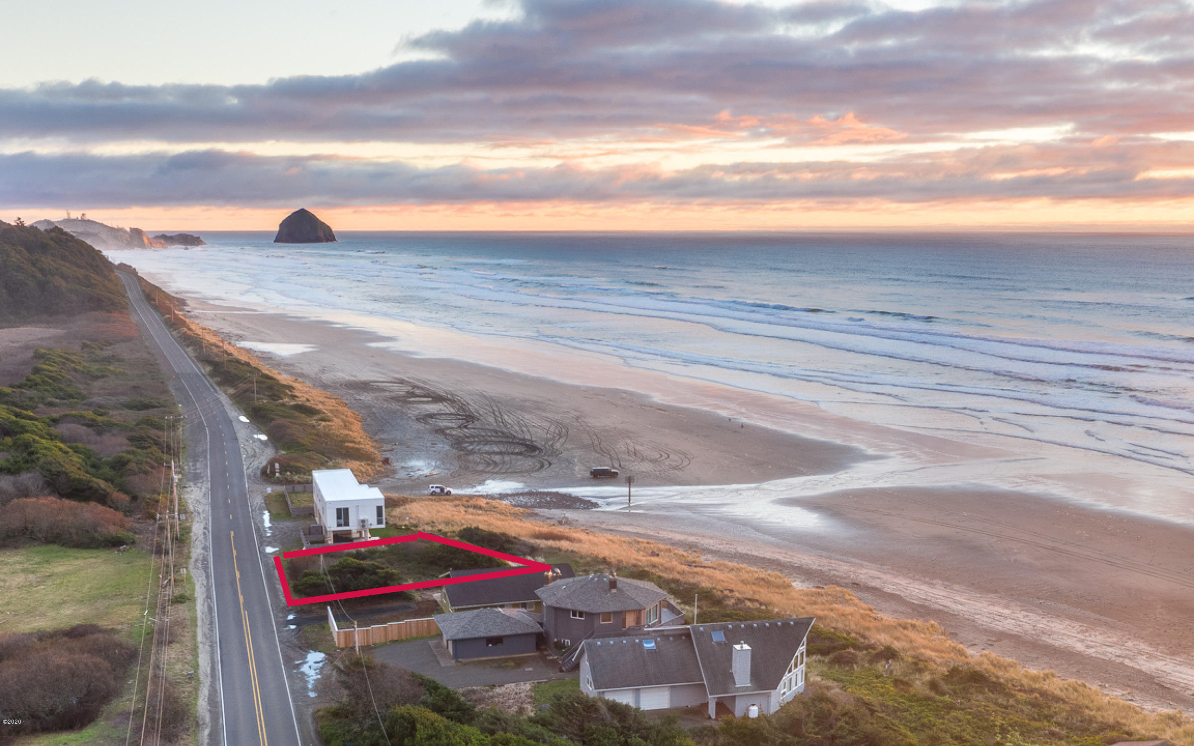 TL 3301 Sandlake Road, Pacific City, OR 97135 - Property lines