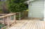 415 NW 19th St, Newport, OR 97365 - Back deck