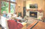 3146 NE Cascara Ct, Lincoln City, OR 97367 - Living Room and Towering Trees