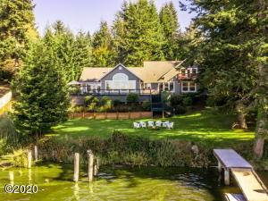 2095 NE East Devils Lake Rd, Otis, OR 97368 - Front of Home