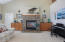 7180 Kihei Dr, Pacific City, OR 97135 - Propane Fireplace
