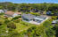 3888 SW Fehrenbacher Dr, Waldport, OR 97394 - arial of home