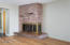 3888 SW Fehrenbacher Dr, Waldport, OR 97394 - fireplace