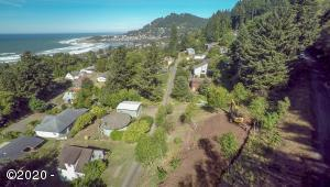 TL 2500 Overlook Dr, Yachats, OR 97498 - Drone View NW to town