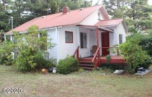 5555 NE Goodwin Ave, Yachats, OR 97498 - North Side of House