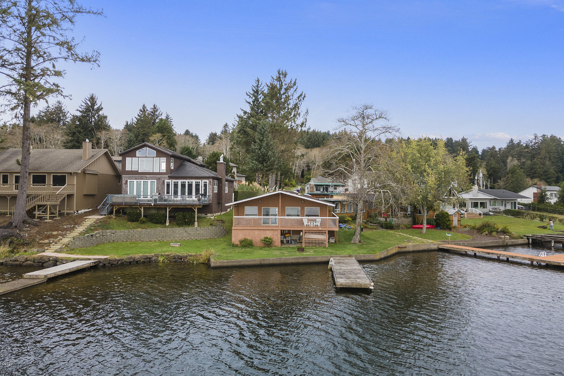 744 NE Lake Dr, Lincoln City, OR 97367 - Lakeside View of Home