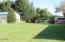 480 W Buford Ave, Siletz, OR 97380 - east corner of the yard