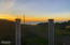 1227 SW Edgewater Dr, Waldport, OR 97394 - Sunset from Deck