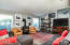 2121 NW Lee Ave, Lincoln City, OR 97367 - Living Room w/Gas Stove