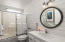 2121 NW Lee Ave, Lincoln City, OR 97367 - Guest Bath w/Shiplap Wall Treatment